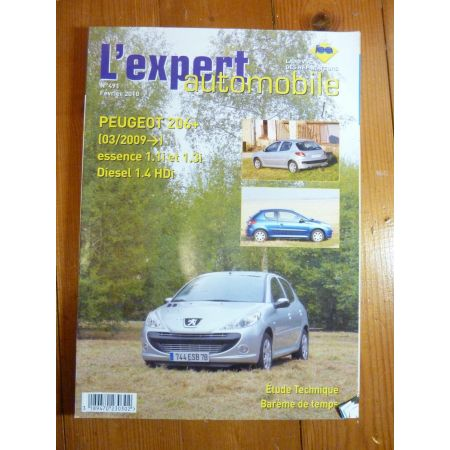 206+ 09- Revue Technique Peugeot
