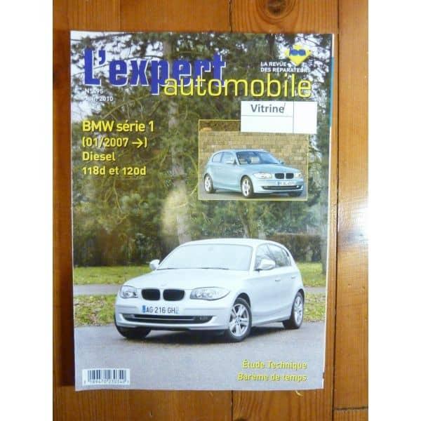 BMW SERIE 1 Diesel 118D et 120D depuis 01/2007 LEA495
