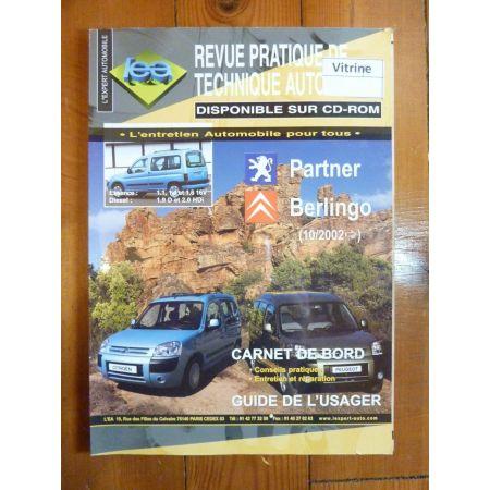 Partner Berlingo Revue Technique Citroen Peugeot