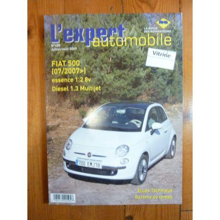 500 07- Revue Technique Fiat