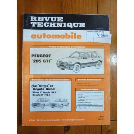 205 1.6L GTI Revue Technique Peugeot