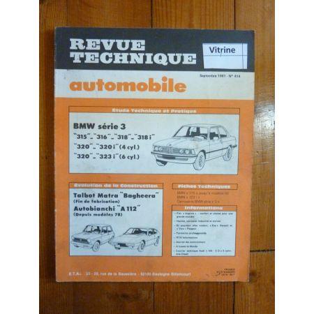 Série 3 Revue Technique Bmw