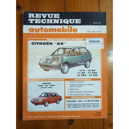 AX 10 11 14 Revue Technique Citroen