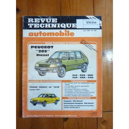 205 Die Revue Technique Peugeot
