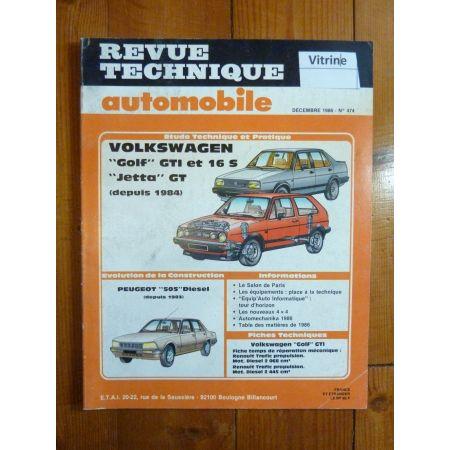 Golf GTI 16S Jetta GT Revue Technique Volkswagen