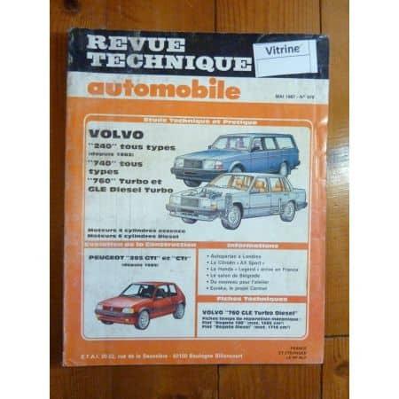 240 740 760 Revue Technique Volvo