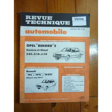 REKORD E Revue Technique Opel