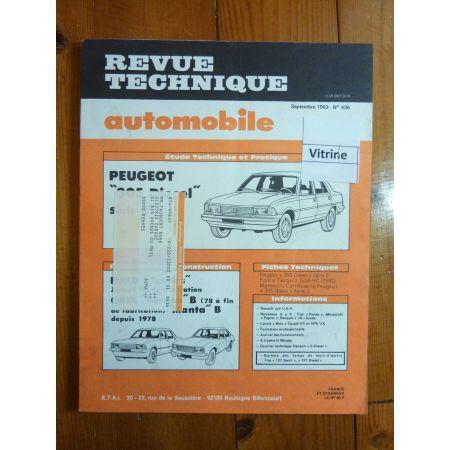 305D S2 Revue Technique Peugeot