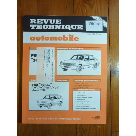 305 GT Revue Technique Peugeot
