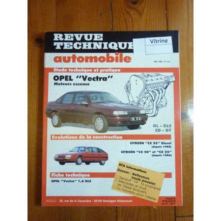 VECTRA Ess Revue Technique Opel