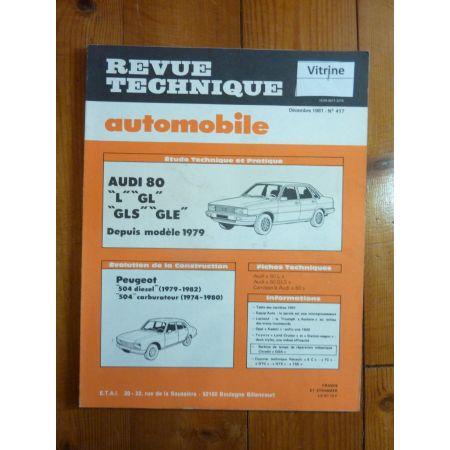 80 79- Revue Technique Audi