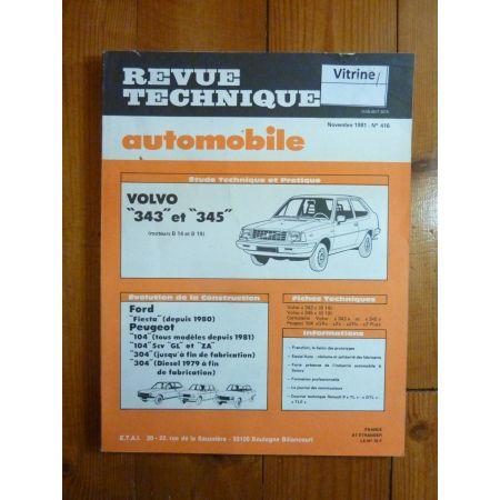 343 345 Revue Technique Volvo