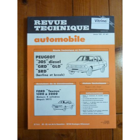 305 Die Revue Technique Peugeot