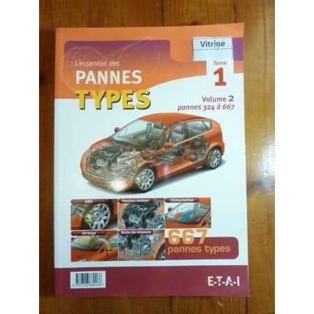Pannes Types T1V2 Revue Technique