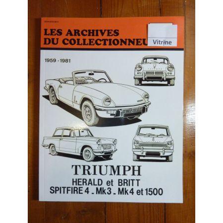 HERALD BRITT SPITFIRE Revue Technique Les Archives Du Collectionneur Triumph