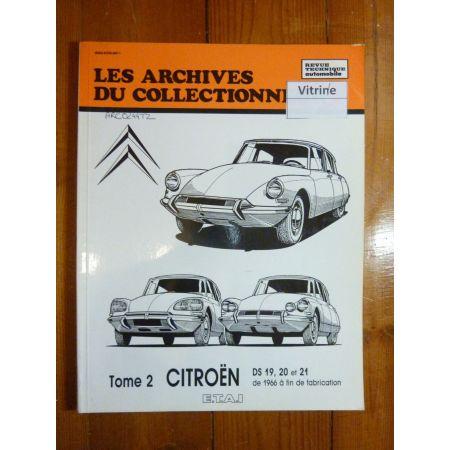 DS19 20 21 T2 Revue Technique Les Archives Du Collectionneur Citroen
