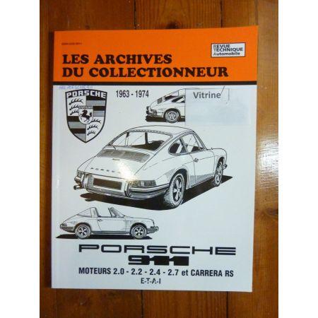 911 Revue Technique Les Archives Du Collectionneur Porsche