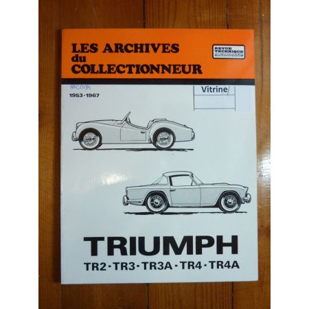 TR2 TR3 TR3A TR4 TR4A Revue Technique Les Archives Du Collectionneur Triumph
