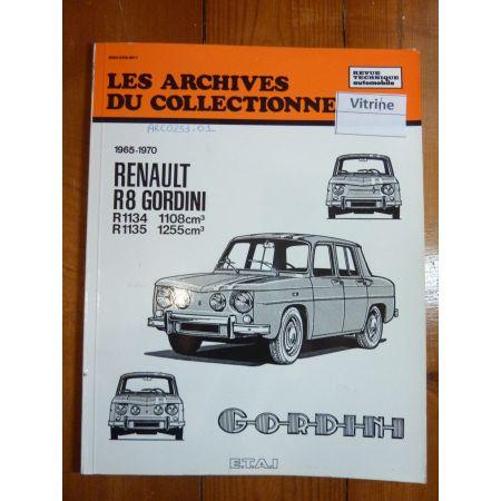 R8 65-70 Gord Revue Renault Technique Les Archives Du Collectionneur Renault