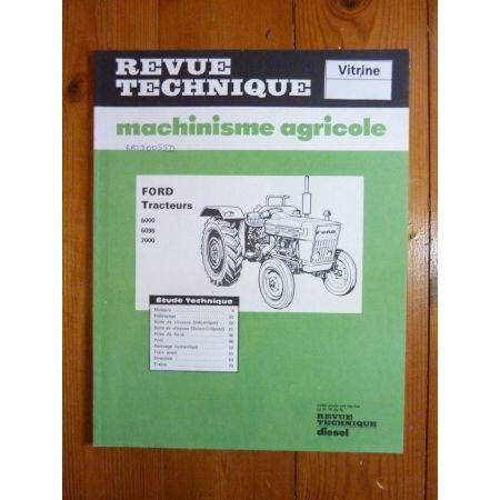 5000 5095 7000 Revue Technique Agricole Ford