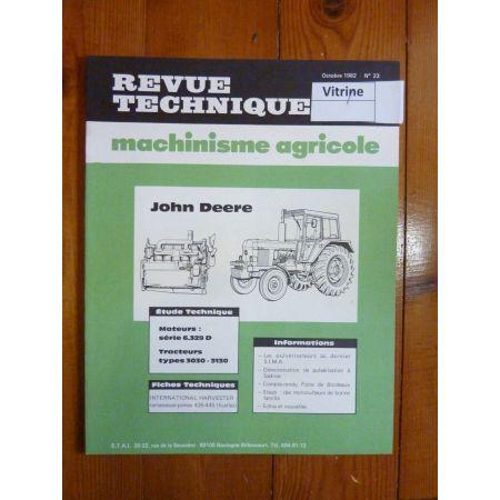 3030 3130 Revue Technique Agricole John Deere