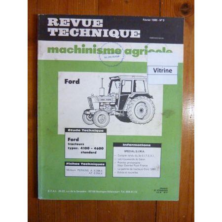 4100 4600 Revue Technique Agricole Ford