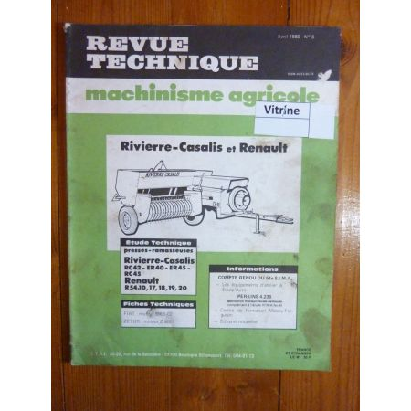 RC4x ER4x R54.1x Revue Technique Agricole Renault