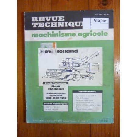 1530 1540 1545 Revue Technique Agricole New Holland