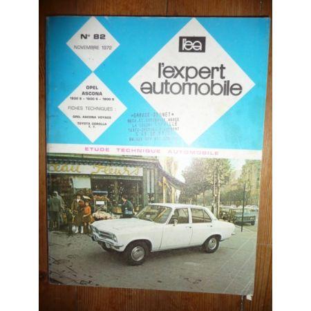 ASCONA S Revue Technique Opel