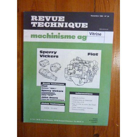 8051.1 - TA19 - Pont AV Revue Technique Agricole Fiat Someca
