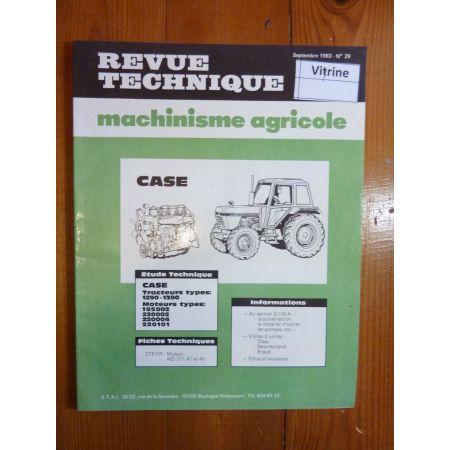 1290 - 1390 Revue Technique Agricole Case Axial