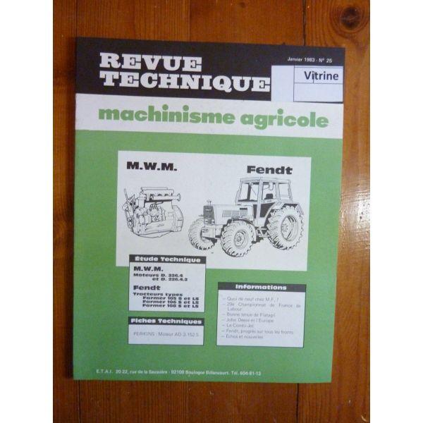 rta revue technique agricole mwm moteurs et. Black Bedroom Furniture Sets. Home Design Ideas