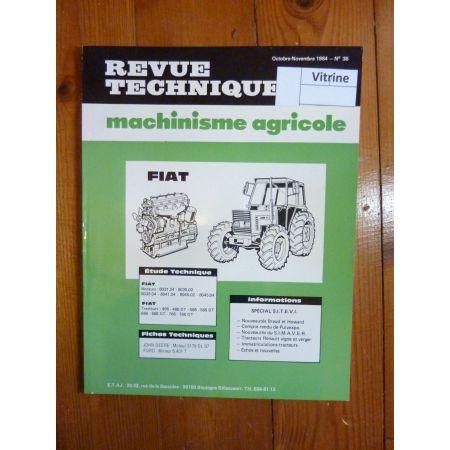466 566 666 766 Revue Technique Agricole Fiat Someca