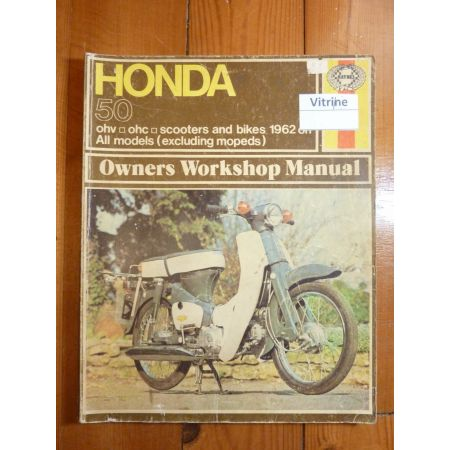 50 Revue Technique Haynes Honda