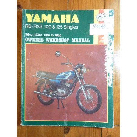 100-125RS Revue Technique Haynes Yamaha