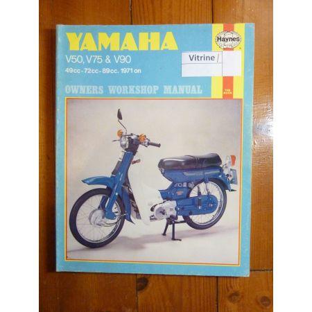 V50,V75,V90 Revue Technique Haynes Yamaha