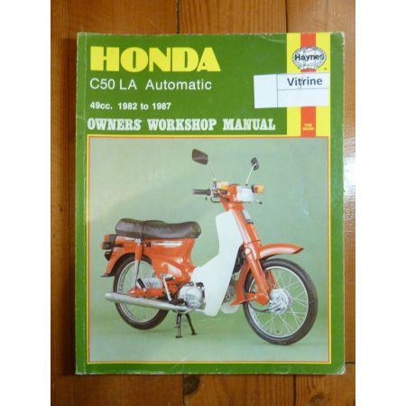C50LA 82-87 Revue Technique Haynes Honda