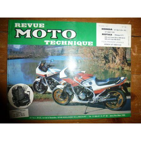 VF1000F VF750F Rotax Revue Technique moto Honda