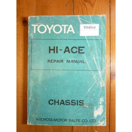 Hi-Ace Manuel reparation toyota