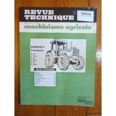 R751-R851-R951 Revue Technique Renault
