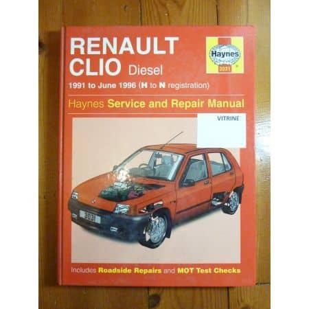 Clio Diesel 91-96 Revue Technique Haynes renault