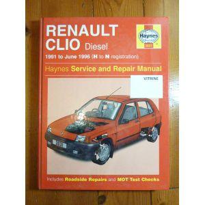 Renault Clio Diesel De 1991 224 Juin 1996 S 233 Ries H Et N border=