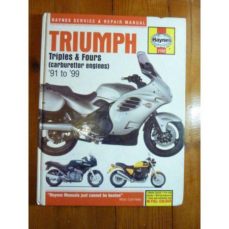 Triple-Fours 91-99 Revue Technique Haynes Triumph