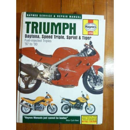 Daytona, ST, Sprint, Tiger 97-33 Revue Technique Haynes Triumph