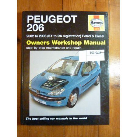 206 02-05 Revue Technique Haynes Peugeot