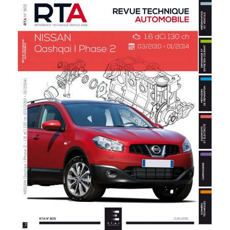 Qashqai Ph1 Dci - Revue Technique Nissan