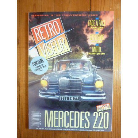 MERCEDES 220 Revue Retro Viseur