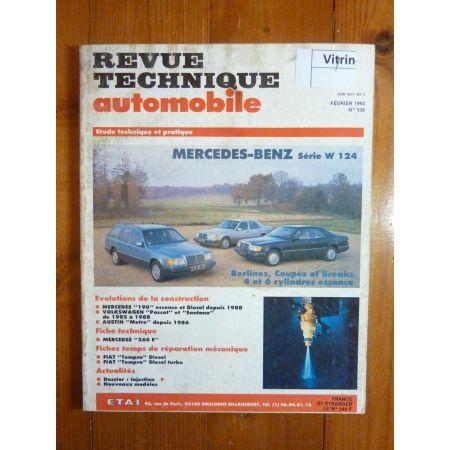 200E 230E 260E 300E Revue Technique Mercedes
