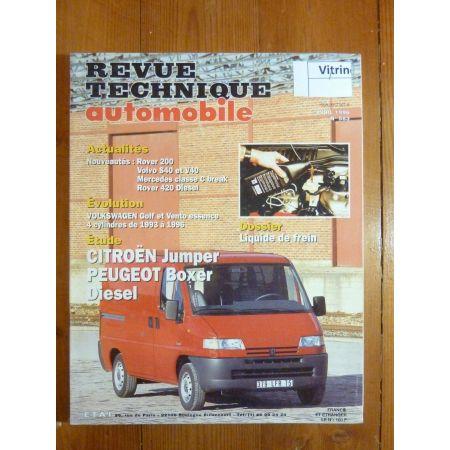 Jumper Boxer Revue Technique Citroen Peugeot