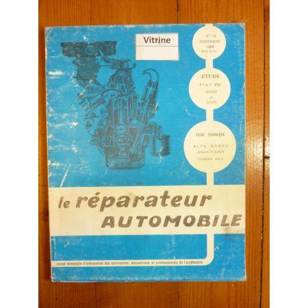 850 Spider Coupe Revue Reparateur Automobile